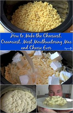 How to Make the Cheesiest, Creamiest, Most Mouthwatering Mac and Cheese Ever.(Easy Baking Mac And Cheese) Cheesy Mac And Cheese, Creamy Macaroni And Cheese, Making Mac And Cheese, Mac And Cheese Homemade, Creamiest Mac And Cheese, Homemade Spices, Homemade Recipe, Mac Cheese, Slow Cooker Recipes