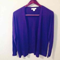 COLDWATER CREEK NWT sweater MED purple - Mercari: Anyone can buy & sell