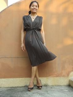Dress ...Maxi Dress ..Color Coco Brown by sutima for $36.00