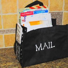 Keep your mail together and the counter tidy with the All-in-One Organizer