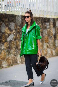 Paris SS 2017 Street Style: Natasha Goldenberg