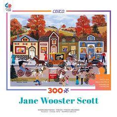 Hustle Bustle - 300 Oversized Piece Jigsaw Puzzle