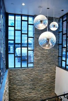 Norstone Charcoal Rock Panels for Natural Stacked Stone Veneer wall cladding Wall Cladding Interior, Stone Cladding Exterior, Sandstone Cladding, Wall Cladding Tiles, Natural Stone Cladding, Sandstone Wall, Interior Staircase, Interior Windows, Staircase Ideas