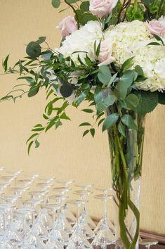 Wedding buffet flora