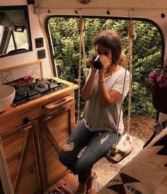 Gefällt Mal, 36 Kommentare – Camper van tours ( auf Ins… – camping Airstream Interior, Campervan Interior, Bus House, Tiny House, Kombi Trailer, Kangoo Camper, T3 Vw, Kombi Home, Bus Living