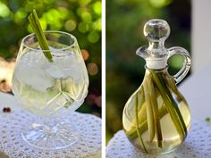 Cafe Lynnylu: Lemongrass Gin and Tonic with Homemade Lemongrass Simple Syrup Natural Medicine, Herbal Medicine, Natural Health Remedies, Home Remedies, Smoothie Drinks, Smoothies, Gin And Tonic, Tonic Water, Edible Gifts