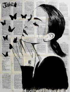 "Saatchi Art Artist: Loui Jover; 2014 ""inspiration"""