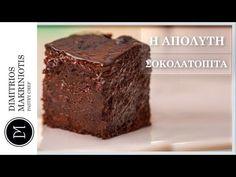 Η Απόλυτη Σοκολατόπιτα από τον Δημήτρη Μακρυνιώτη. Πανεύκολη συνταγή για την πιο λαχταριστή και ζουμερή σοκολατόπιτα που έχετε φτιάξει ποτέ. Desserts, Youtube, Recipes, Food, Bags, Tailgate Desserts, Handbags, Deserts, Eten