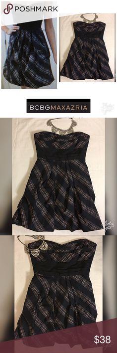 BCBGMaxAzria Bubble Taffeta Strapless Dress Size 8 BCBGMaxAzria Bubble Taffeta Strapless Dress Size 8 BCBGMaxAzria Dresses Strapless