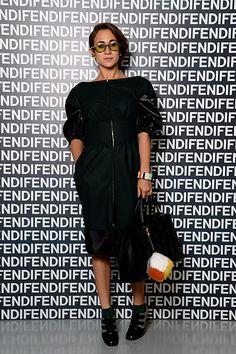 Delfina Delettrez Fendi - Fendi Front Row #mfw