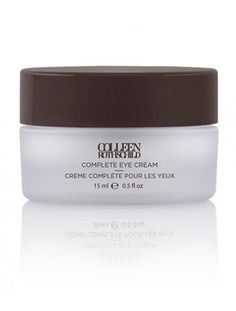 Colleen Rothschild: Complete Eye Cream- One stop for total renewal...addresses the signs of fine lines, reduces the appearance of under-eye darkness, and restores elasticity.
