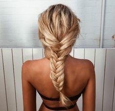 Gabby Epstein beachy braid