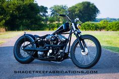 "A 2015 Shadetree Fabrications Special Construction Bobber Called ""Mr Anderson"".    http://shadetreefabrications.com/bikes/"