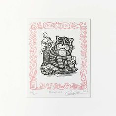 Bagpuss by Peter Firmin (Limited Edition Print)