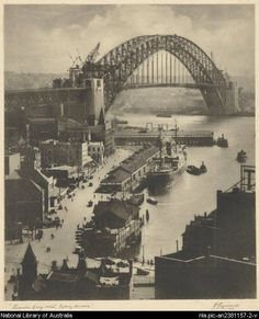 Top 10 Things To Do In Sydney Australia - Seeing Sydney Harbor Bridge, Sydney Harbour Bridge, Old Pictures, Old Photos, The Rocks Sydney, Quay West, Joker Images, Sydney City, History Photos