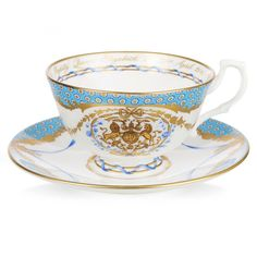 The Queen's 90th Birthday Commemorative Teacup And Saucer