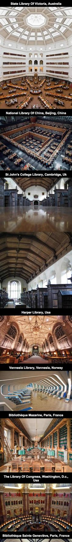 The Most Amazing Libraries In The World aka Heaven on Earth