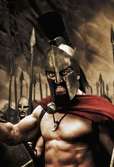 Gerard Butler in 300