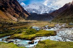 5-Day All-Inclusive Salkantay Trek To Machu Picchu This 5-day tour is adventure which will allow you to experience Peru like never before. You will trek the Salkantay Trail to Machu Picchu. An ancient and remote footpath, you will see massive snow-capped mountains and lush tropical rainforests. You will trek from 3,900m/12,800ft to 2,100m/6,900ft, traveling across mountain passes, snow-capped peaks and seeing nature in its purest form. You will experience more than 15 differen...