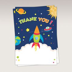 Space Rocket Astronaut Birthday Party printable Photo by PNArt