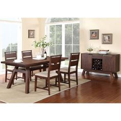 Woodrow 6-piece Dining Set