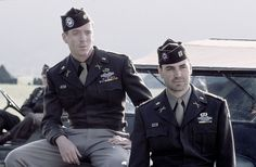 Where to put this? beauty? cause, yeah. History? Talent? I will make do with Period Drama because Band of Brothers is series that takes place in WWll . Damian Lewis and Ron  Livingston are perfect as Richard Winters and Lewis Nixon.