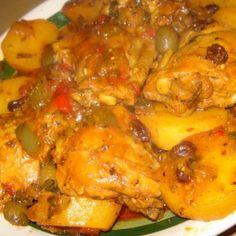 Chicken Fricasee (Cuban Fricase de Pollo)