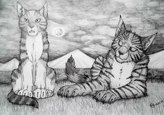 Ivypool and Hawkfrost