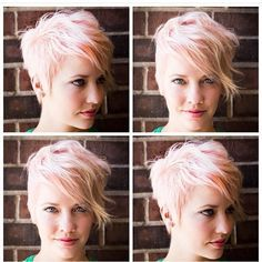 Image result for styling a pixie cut