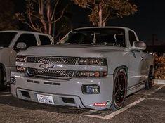 Chevy Trucks Lowered, Custom Chevy Trucks, Chevy Pickup Trucks, Chevrolet Trucks, Lifted Trucks, Chevy Silverado Single Cab, 2000 Chevy Silverado, Silverado Truck, Single Cab Trucks