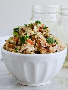 Thai Chicken Quinoa (ready in less than 30 minutes!)