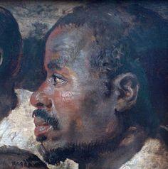 Peter Paul Rubens Four Studies of a Male Head... - People of Color in European Art History