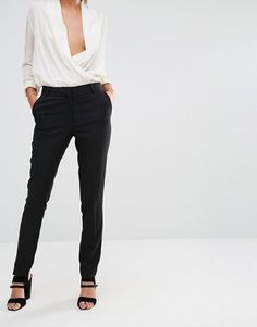 New Look | New Look Stretch Slim Leg Trousers