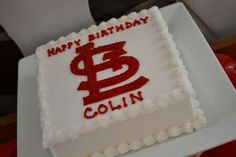 St Louis Cardinals Baseball Birthday Party Ideas