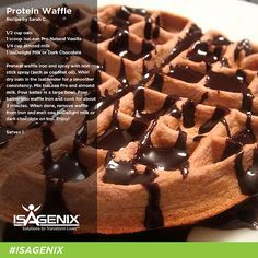 Isagenix recipe protein waffle