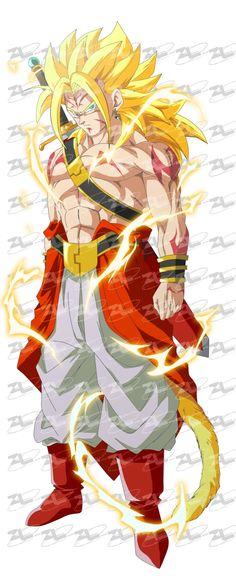Zukkini - Ancient Saiyan Warrior