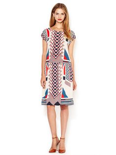Tinka Printed Sheath Dress by Marc by Marc Jacobs