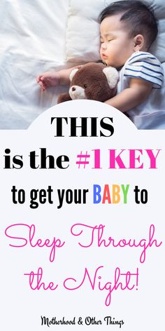 The Key to Get Your Baby to Sleep Through The Night - Let's face it, getting baby to sleep through the night is a major milestone and a great achieveme - Getting Baby To Sleep, Help Baby Sleep, Kids Sleep, Child Sleep, Baby Sleep Routine, Baby Sleep Schedule, Sign Language For Kids, Cleaning Lists, Cleaning Schedules