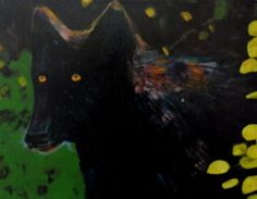 Linus Woods paintings | Bearclaw Gallery Edmonton - WHERE WOLVES DON'T GO
