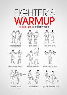 Fighter's warm-up routine. | Boxing | The Idle Man | #StyleMadeEasy