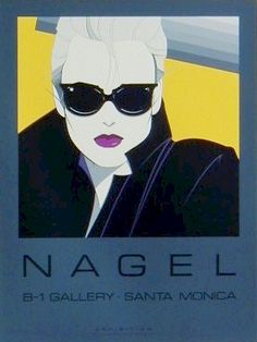 Nagel Art - I knew a guy who had HUGE prints of these on his walls.