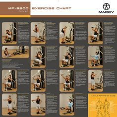 Weight machine workouts marcy platinum home gym exercise chart gytor co total gym exercise chart Smith Machine Workout, Weight Machine Workout, Marcy Home Gym, At Home Gym, Home Gym Exercises, Gym Workouts, Gym Workout Chart, Man Workout, Workout Plans