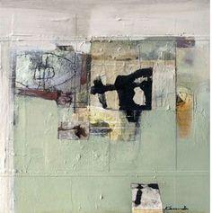 Wallmarks, Katherine Chang Liu, mixed media on canvas