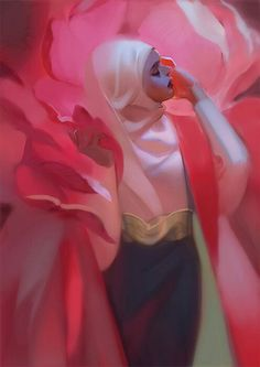 """cyanparade: """"Hey guys, I have finally compiled my hijabi portrait collection as a zine, it is available for international shipping :) Visit here for more information~! Pretty Art, Cute Art, Illustrations, Illustration Art, Kunst Online, Character Design Inspiration, Art Plastique, Art Inspo, Amazing Art"""