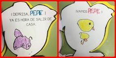 """Junto con el dossier del proyecto del primer trimestre, los peques llevaron también el cuento de """"El pollo Pepe va al colegio"""".   Este c..."""
