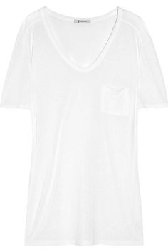 3b685556a3e The perfect white tee - T by Alexander Wang