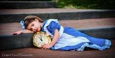 Children Poses - Alice In Wonderland by Ginger's Touch Photography