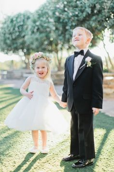 Ring Bearer and Flower Girl | photography by http://www.andrewjadephoto.com