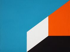Geometric Abstraction Painting #118. Acrylic on board. October 22 2014