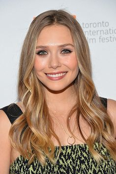 ELIZABETH OLSEN - Actress who was first seen in videos with sisters Mary-Kate and Ashley, but later emerged as a talented horror film actress in Mary Martha May Marlene and Silent House.